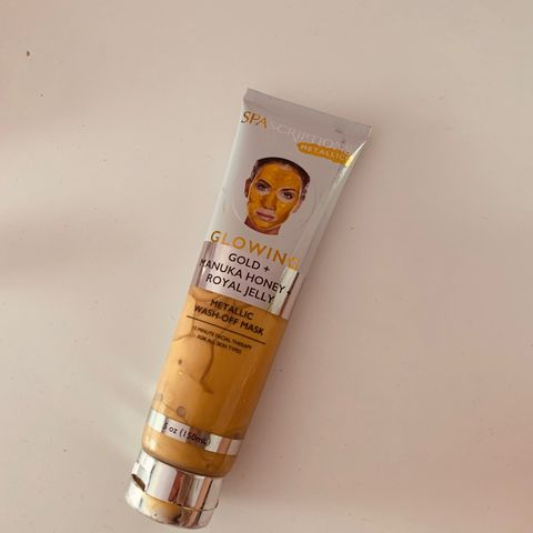 Gold+ manuka honey royal jelly mentallic mask