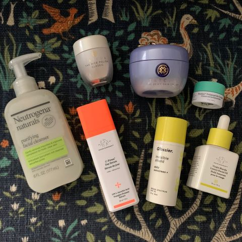 review my routine for next week! 🧖🏾♀️