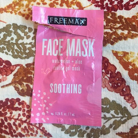 Face Mask Empty