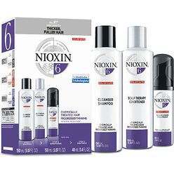 Hair Care Kit System 6, Chemically Treated Hair with Progressed Thinning