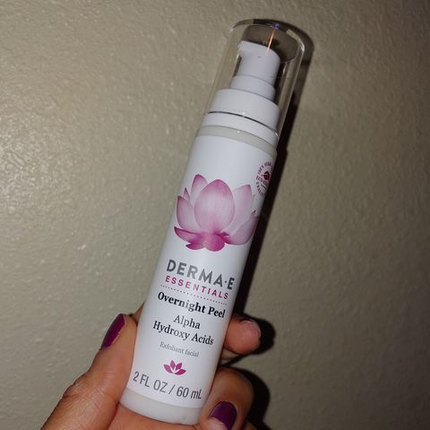First Impression ! Derma E Overnight Peel