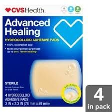 Advanced Healing Hydrocolloid Bandages, CVS pharmacy, cherie