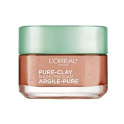Pure-Clay Face Mask with Red Algae for Clogged Pores to Exfoliate And Refine Pores