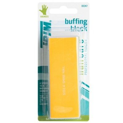 Nail Care 4-Step Color-Coded Buffing Block