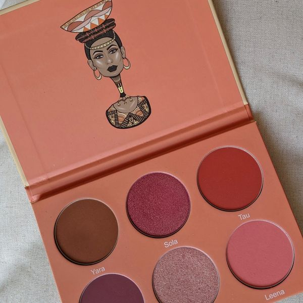 All in One Makeup Palette: Juvia's Place Blush P | Cherie