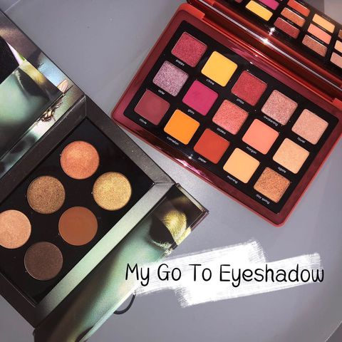 Here're My Go To EYESHADOWs