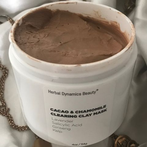 Herbal dynamics cacao clay mask