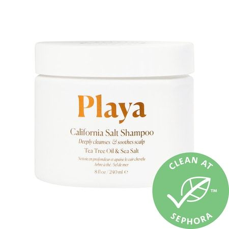 California Salt Scalp Scrub Shampoo, Playa, cherie