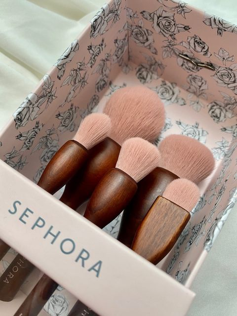 the brush set i cant LIVE without #cheriepartner