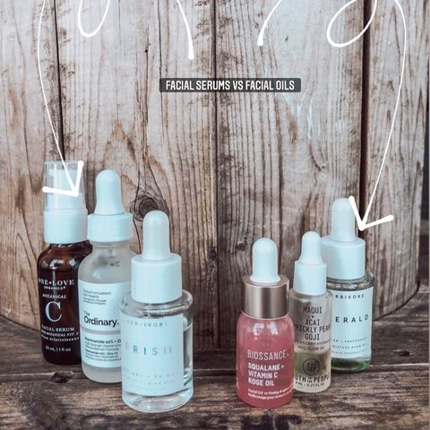 SERUMS VS OILS ?! WHATS THE DIFFERENCE ?!