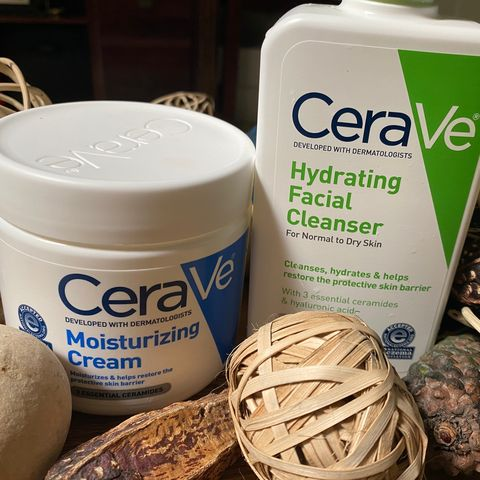Cerave for my dehydrated damaged skin!