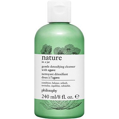 Nature In A Jar Gentle Detoxifying Cleanser With Agave, philosophy, cherie