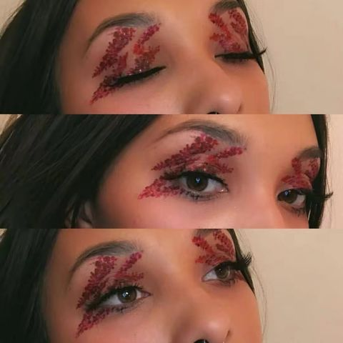 BOWIE inspired eye look! Fun and easy!