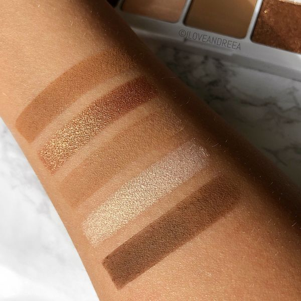 Swatches in natural lighting of this gorgeous natashadenona Camel Palette 🐪🧡 Haven't reached for any... | Cherie