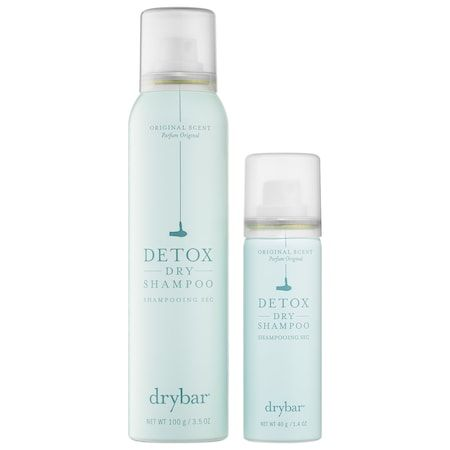 Double Dose of Detox Dry Shampoo