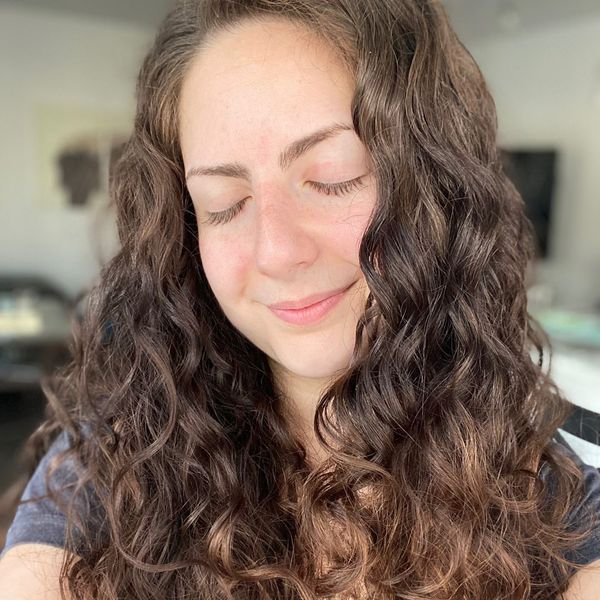 """How I """"Plop""""/Air Dry My Wavy/Curly Hair w/ pics! 