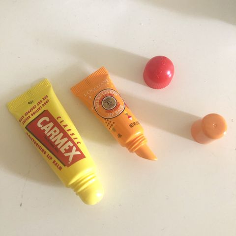 Looking for a lip balm? My old VS new