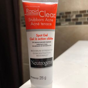 Rapid Clear Stubborn Acne Spot Gel Neutrogena Cherie