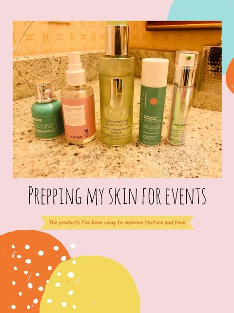 ADDRESS YOUR SKIN CONCERNS BEFORE EVENT!