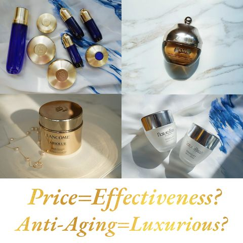 Expensive=Good? At Least For These Four Anti-Aging Products...