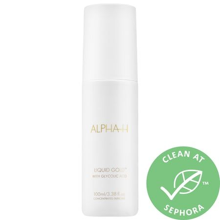 Liquid Gold Exfoliating Treatment with Glycolic Acid, ALPHA-H, cherie