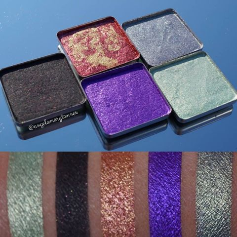 Eyeshadows from F.A.I.R. Beaut