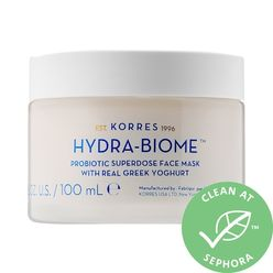 Hydra Biome Probiotic Superdose Face Mask With Real Greek Yoghurt