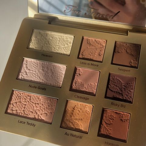 too faced natural palette 🧸