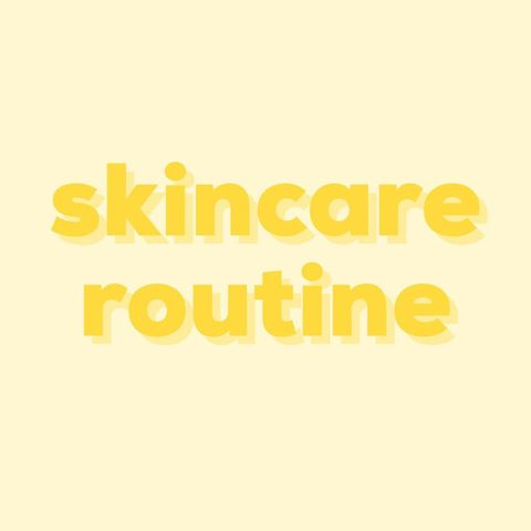 skincare routine curated by soko glam ✨