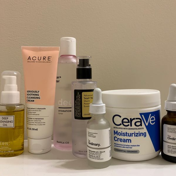 altered PM routine for sensitive & dry skin | Cherie