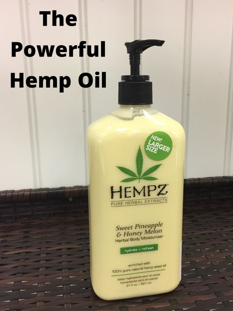 Say What You Will, But Hemp Helps My Skin!