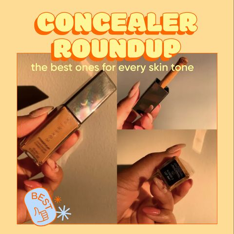 CONCEALER ROUND UP! The Best Product For Every Skin Tone