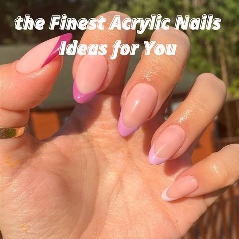 Why We Will Never Get Bored of Acrylic Nails