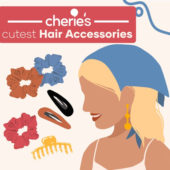 The Cutest Hair Accessories on Cherie