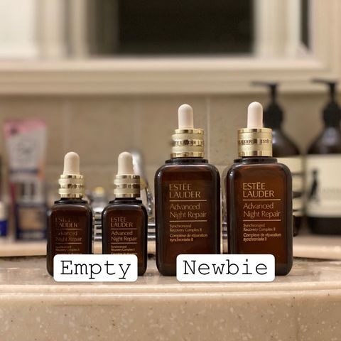 Empties become newbies! Repurchase for 2020