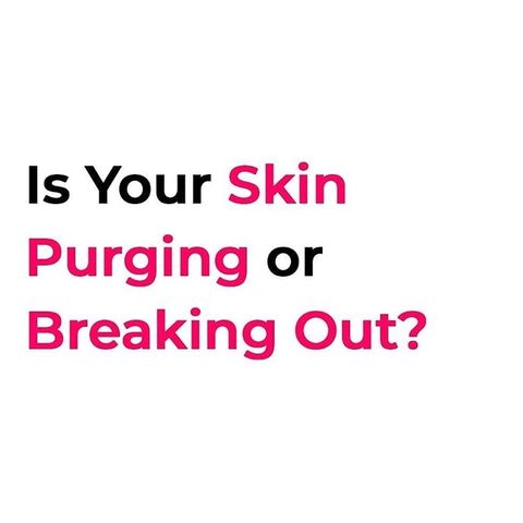 PURGING vs. IRRITATION