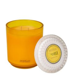 Pineapple Ginger 2 Wick Glass Hostess Candle