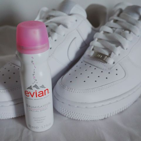 @evianspray kindly gifted me t