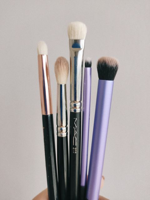 MY TOP 5 EYESHADOW BRUSHES
