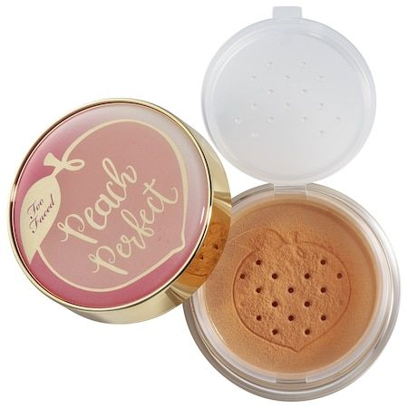 Peach Perfect Mattifying Setting Powder – Peaches and Cream Collection