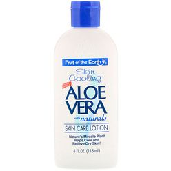 Skin Cooling, Aloe Vera with Naturals, Skin Care Lotion, 4 fl oz (118 ml)