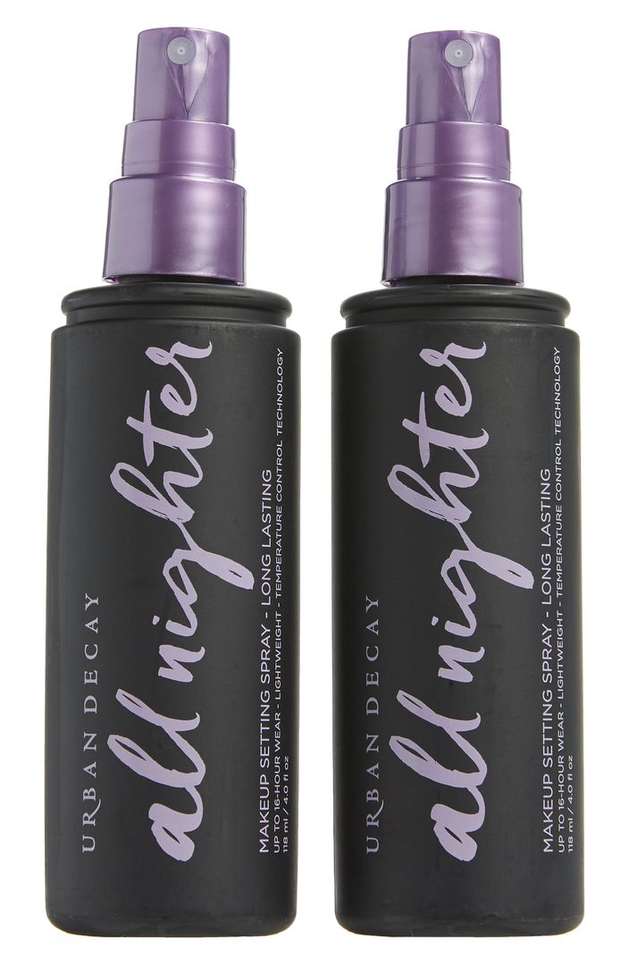 Full Size All Nighter Long-Lasting Makeup Setting Spray Duo