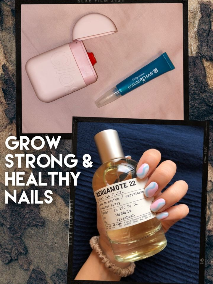 How To Grow STRONG & HEALTHY Nails💅🏻✨