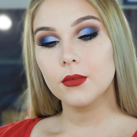 Check out this eye look!