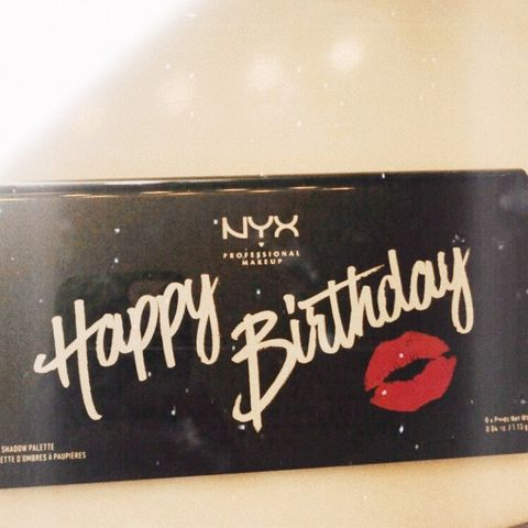 NYX Happy Birthday Palette