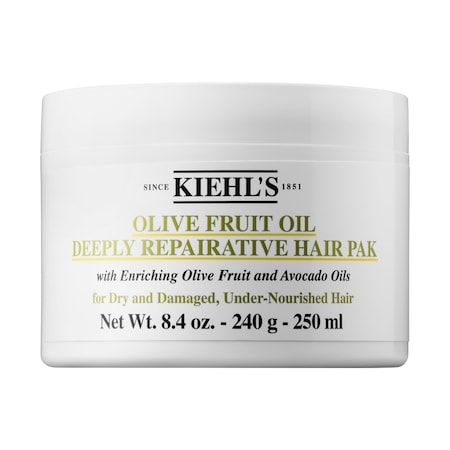 Olive Fruit Oil Deeply Repairative Hair Pak, Kiehl's, cherie