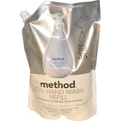 Gel Hand Wash Refill, Free of Dyes + Perfumes
