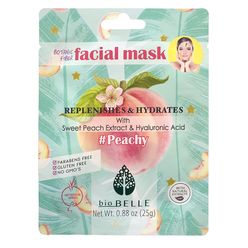#PEACHY Peach & Hyaluronic Acid Mask