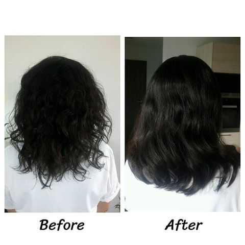 Silicone is bad for hair?NO! Try it if you wanna keep curly hair straight!