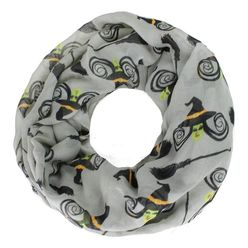Witches & Brooms Halloween Infinity Scarf